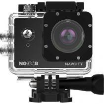 Câmera de Aventura Navcity NG-100 Preta 12MP Full HD com Case à Prova dágua 30m + Selfie Stick -