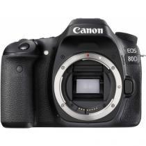 Câmera Digital Canon DSLR EOS 80D - Corpo -