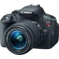 Câmera Digital Canon Dslr Eos Rebel T5i 18 Megapixels Com Lente Ef-S 18-55mm Stm - CANON