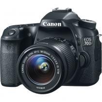 Câmera digital canon eos 70d / 18-55mm -