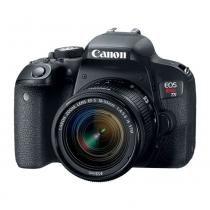Câmera Digital Canon Eos Rebel T7I Ef-s 18-55mm - Canon