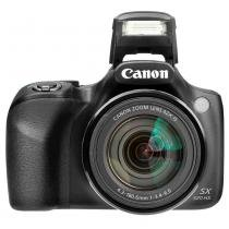 Câmera Digital Canon SX530HS 16MP, Tela 3, Zoom Óptico 50x, Wi-Fi, NFC, Full HD, Cartão 8GB - Preta -