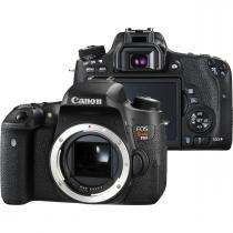 Câmera digital canon t6s dslr 24.2mp corpo -