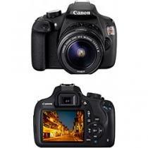 Câmera Digital EOS Rebel T5 com Lente EF-S18-55mm III Canon -