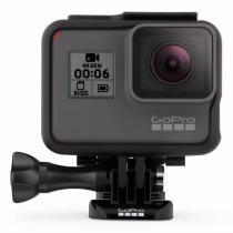 Câmera Digital GoPro Hero 6 Black 12MP com Gravações em 4K60 À Prova DÁgua -