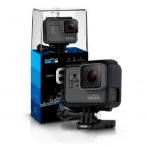 Camera Digital GoPro Hero 6 Black Ultra HD 12Mp com 4K Wifi  Go Pro -