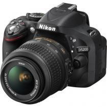 Câmera Digital Nikon Dslr D5200 24.1 Megapixels Com Lente 18-55mm -