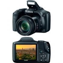 "Câmera Digital Semiprofissional Canon Powershot sx520hs 16.1MP LCD 3.0"" Preta Zoom Óptico 42x - Canon"