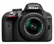 Câmera digital slr nikon d3300 - 24.2mp / 18-55mm / full hd - preta - Nikon