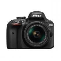 Câmera Digital SLR Nikon D3400 - 24.2MP / 18-55mm / Full HD - Preta - NIKON