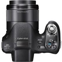Câmera Digital Sony DSC-H300, 20.1MP, Zoom Óptico 35x, Filma HD, Foto Panorâmica -