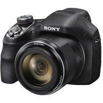 Câmera Digital Sony DSC-H400, 20.1MP, Tela 3, Zoom Óptico 63x, Filma HD, Foto Panorâmica -