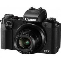 """Câmera DSLR Canon PowerShot G5 X, 20.2MP, 3.0"""", Wi-Fi - Preto -"""