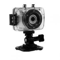 Câmera e filmadora digital hd multilaser sportcam 14 mp suporte para capacete e bicicleta a prova dagua - Multilaser
