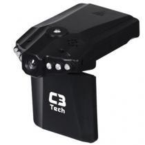 Câmera e Filmadora Veicular HD com Visão Noturna CV303 - C3 Tech - C3 Tech