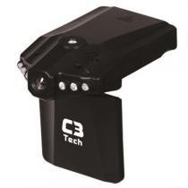 Câmera E Filmadora Veicular Hd Usb 2.0 Cv303 C3 Tech - C3 Tech