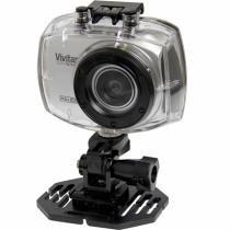 Câmera Filmadora De Ação Full Hd Prata Dvr787hd Vivitar - Vivitar