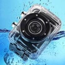 Camera Filmadora Digital Hd720p Action Camcorder Prova Dágua -