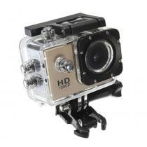 Câmera Filmadora Esportiva Hd Dv - Cor Dourada - Mega page