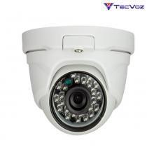 Câmera Flex HD 4 EM 1 Infra Red Dome QDM-228 Tecvoz -