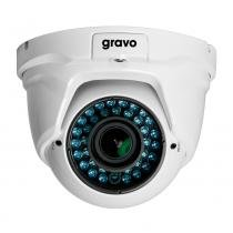 Camera hibrida 2,8 a 12mm IP66 GHD 1MV/30 Gravo -