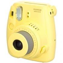 Câmera Instantânea Fujifilm Instax Mini 8 Amarelo - Flash Automático