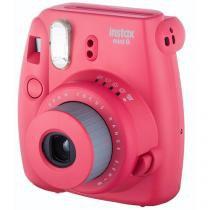Câmera Instantânea Fujifilm Instax Mini 8 - Framboesa Flash Automático