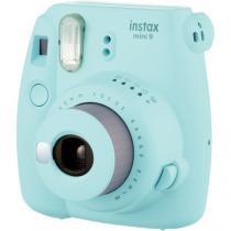 Câmera instantânea fujifilm instax mini 9 - azul aqua - Fuji film