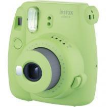 Câmera instantânea fujifilm instax mini 9 - verde lima - Fuji film