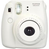 Câmera Instantânea Fujifilm Kit Festa Instax Mini - 8 Branca com Filme e Acessórios