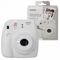 Câmera Instantânea Instax Mini 9 FUJIFILM - Branco Gelo -