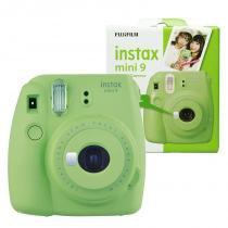 Câmera Instantânea Instax Mini 9 FUJIFILM - Verde Lima -
