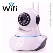 Câmera Ip Sem Fio Wifi Hd 720p Robo Wireless, Com Áudio, Grava Em Cartão Sd, Com 2 - Mega page