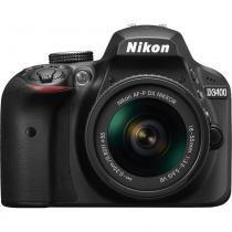 Câmera Nikon D3400 Com Lente 18-55mm Vr Af-P - Nikon