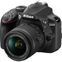 Câmera Nikon D3400 kit lente AF-P 18-55mm VR -