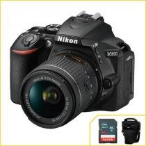 Câmera Nikon D5600 kit com 18-55mm f/3.5-5.6G VR AF-p DX - Nikon
