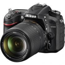 Câmera Nikon DSLR D7200 kit Lente 18-140mm -