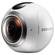 Câmera Samsung Gear 360 4K - Wi-Fi Sensor CMOS 15MPx2