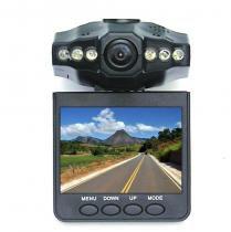 Câmera segurança veicular com gravador dvr monitor 2,5 lcd - Auto mais