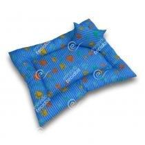 Caminha PET em Tecido Gorgurinho Azul - Enrolado tecidos