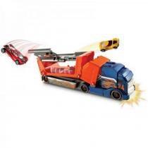 Caminhão Batida com Veículo Hot Wheels Mattel Rigs Spring Y0177 - Mattel