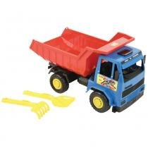 Caminhão Caçamba Infantil Fera da Estrada 321L - Magic Toys - Magic Toys