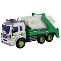 Caminhão de Lixo de Fricção 308S - Shiny Toys