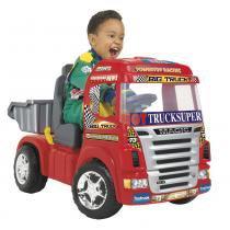 Caminhão Infantil Big Truck Elétrico 6V Vermelho 1900 - Magic Toys - Magic Toys