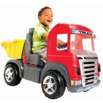 Caminhão Infantil Truck com Pedal Vermelho 9300 - Magic Toys - Magic Toys