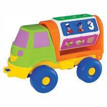 Caminhão Sorriso Didático - Merco Toys - Mercotoys