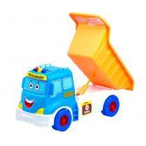 Caminhão Trucababy Calesita Azul Sem Som - Calesita