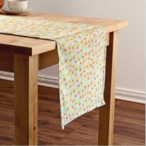 Caminho de mesa milano flor 40x140cm amarelo - Ecaza
