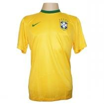 299fa24f21 Camisa Brasil Home Adulto - Tecido Dri-fit - Nike -