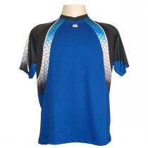 fe9acb4e11 Camisa de Goleiro Profissional Manga Curta modelo Paraí Tam GG Nº 1 - Azul  Royal